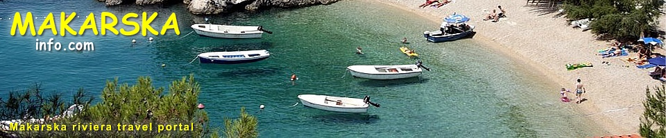 Makarska Riviera Croatia Accommodation And Travel Info