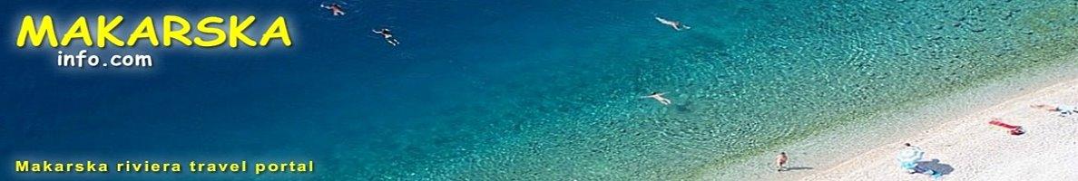 Pláže Makarska Riviera