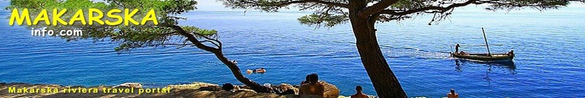Makarska Riviera obala